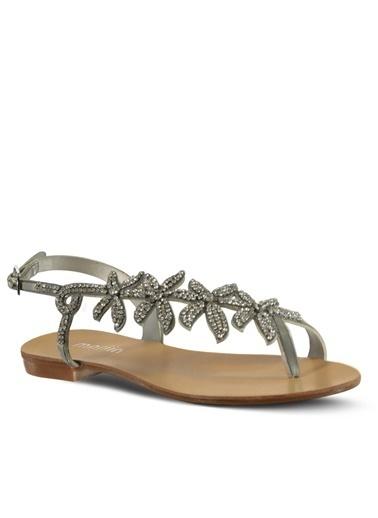 Marjin Sandalet Gümüş